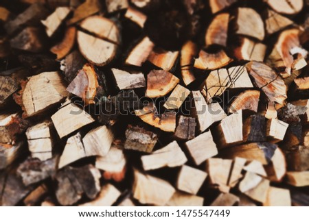 background of wooden timber in brown