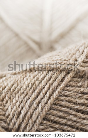 background of yarn skeins