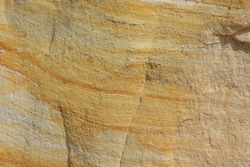 Background of yellow and white sandstone