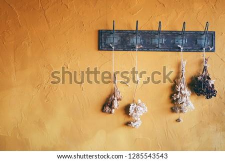 Background of yellow wall. ストックフォト ©