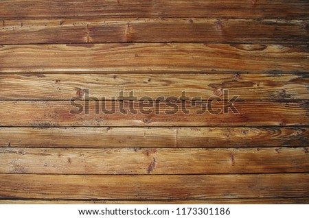 Background: Old rustic wooden planks #1173301186