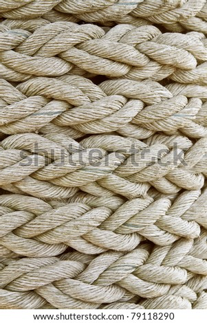 background on braided rope