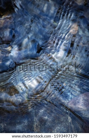 background or texture Abstract surface of a river surface