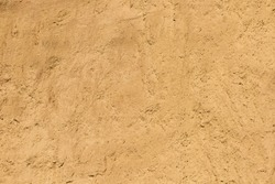 Background or texture of great clay wall or brown ocher