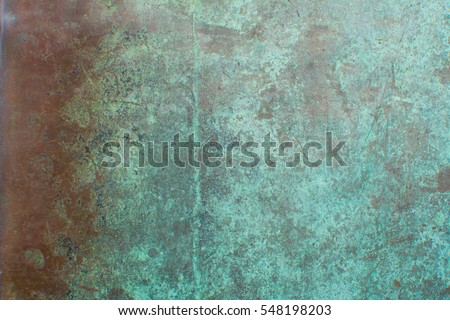 background oxidised copper sheet #548198203