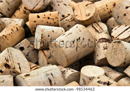 Background pattern of the corks