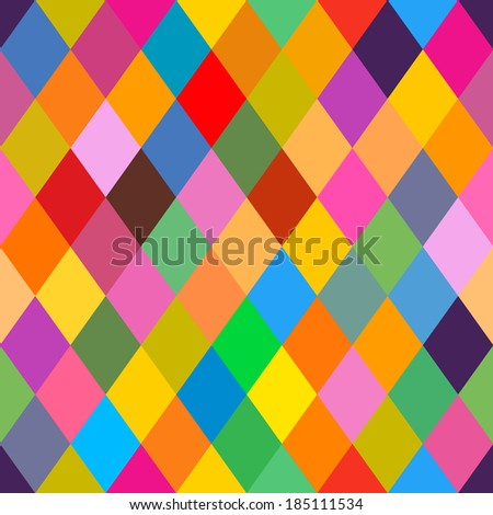 Background - pattern with rhomboids (seamless)