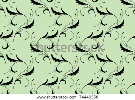 background patterns green. stock photo : Background pattern with vintage ornament on the green