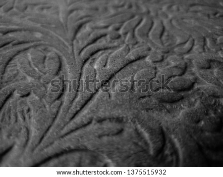 Background patterned on a tree. Thread patterns. Ornament patterns. #1375515932