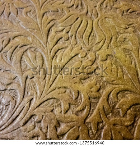 Background patterned on a tree. Thread patterns. Ornament patterns. #1375516940