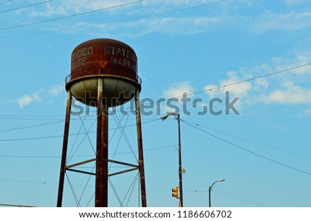 Old Rusty Water Tower Free Images and Photos - Avopix com