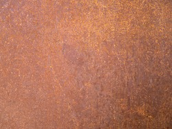 Background photo of rustic steel panel.