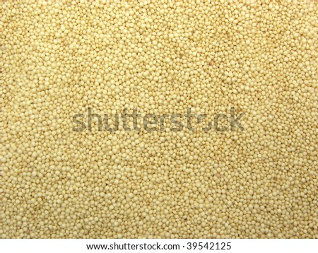 Background picture as close-up view on amaranth seeds