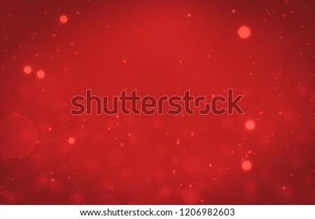 Background red lights. Christmas Valentine.