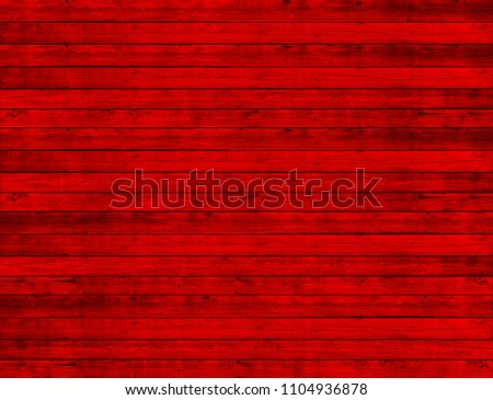Background red wooden planks board texture