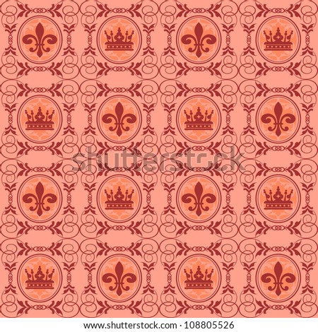 background retro: wallpaper, pattern, seamless, vintage background texture  - stock photo