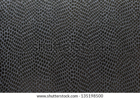 Background series : Dark snake skin texture