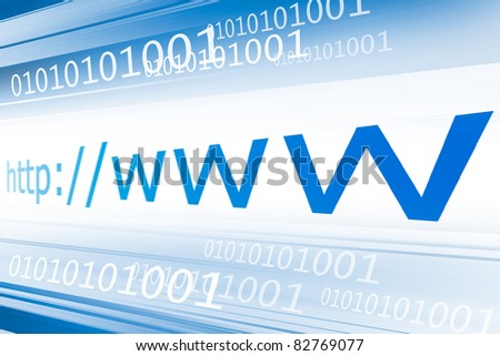 Background showing blue lines for a internet and web pages related concept