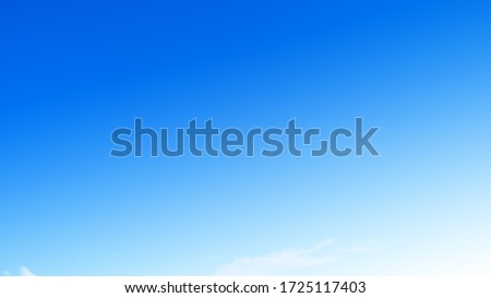 Background sky gradient,Bright and enjoy your eye with the sky refreshing in Phuket Thailand. Stockfoto ©
