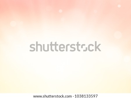 Background soft pink bokeh abstract