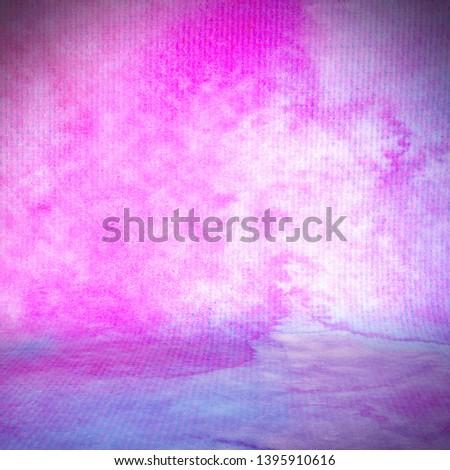 Background studio portrait backdrops pink purple colors transitions of color paints with texture. #1395910616