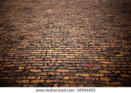 background texture brick paving