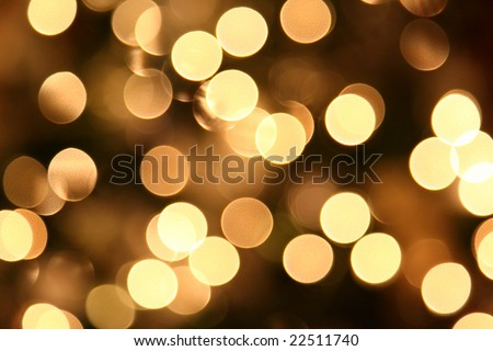 Background / texture image of close up out of focus Christmas tree lights. #22511740