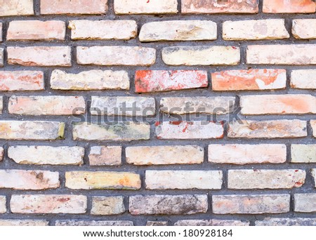 Background texture of a brick wall #180928184