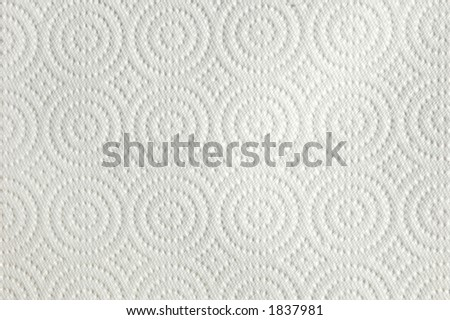 Background Texture of a Paper Towel with Circles and Diamonds