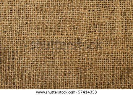 background texture of an ancient brown jute material