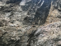 background texture of cliff in the mountain valley at Phatthalung, Thailand