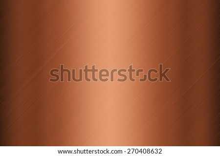 Background texture of copper plate surface