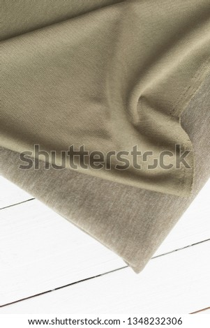background texture of fabric . knitted fabric. beige fabric