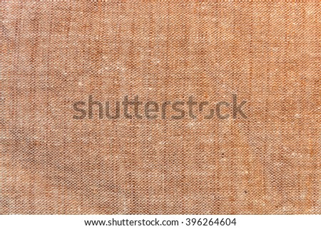 background texture of light brown linen fabric brown linen fabric lighting