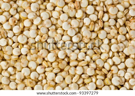 Background texture of quinoa grains.