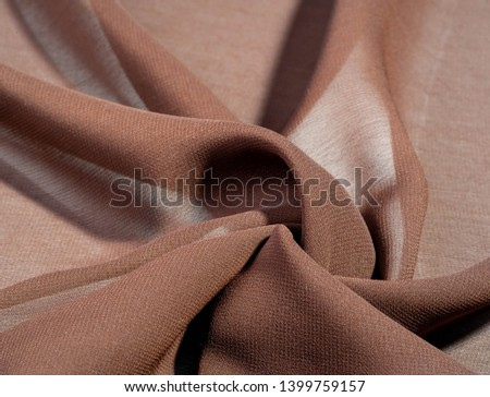 Background texture of silk fabric.