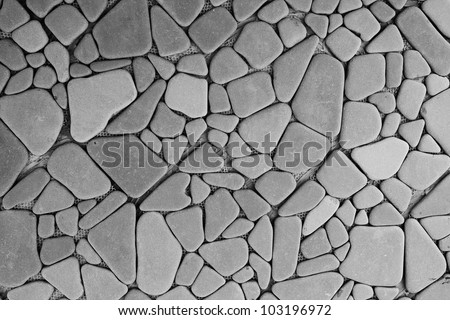 Background texture of stone wall #103196972
