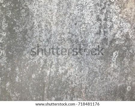Background texture old aluminium