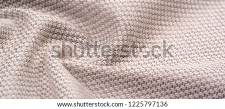 Background texture pattern Fabric warm wool with a stitched brown thread. This brown woven wool tweed is sure to suit you. Mix and match to create a beautiful design environment and more #1225797136