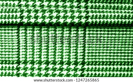 Background texture pattern. The fabric is thick, warm with a checkered pattern green This soft double damping with a light weight is ideal for design and more! Features yarn dyed checkered dark green #1247265865