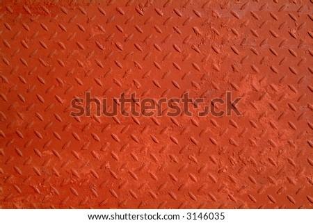 background texture red steel pattern
