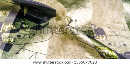 Background texture Universal georgette with a silk print, drawing cartoon people, your projects will be the best, creativity knows no bounds! dare to be the best #1555077023