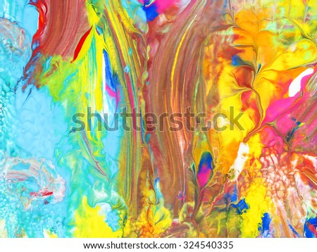 background texture water color art paint abstract on paper