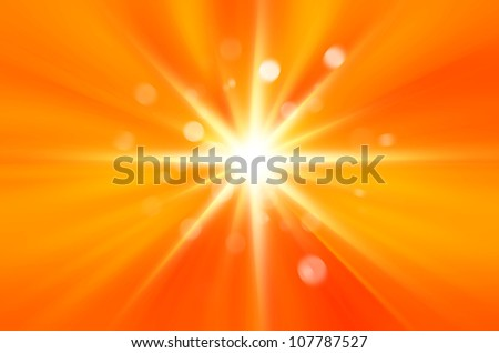Background texture with warm sun