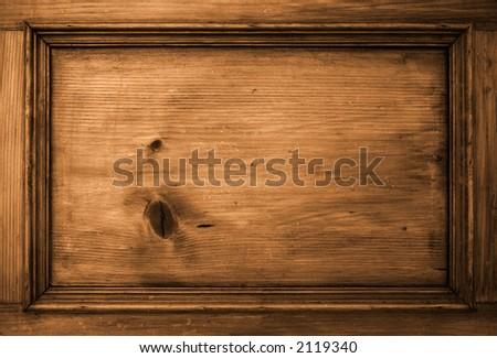 Background Texture Wood sepia - stock photo