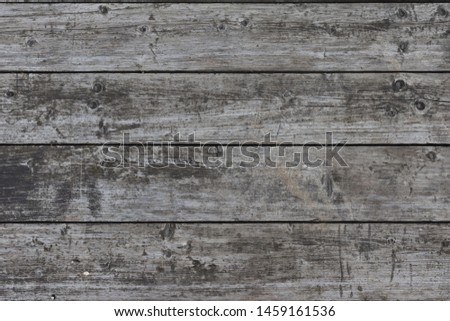 Background texture wooden planks. Old dark grunge gray boards.