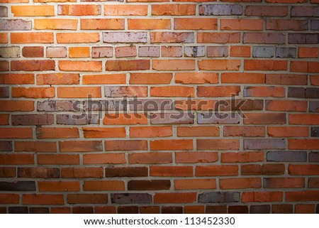 Background. The  texture of old brick wall