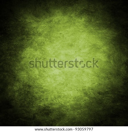 Background wall in green
