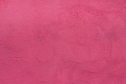 background wall with putty painted pink texture surface
