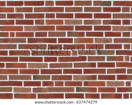 Stock Photo Background wallpaper red brick wall 4K